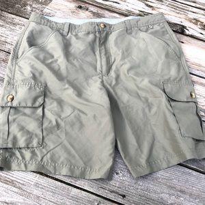 Magellan Outdoor Fish Gear cargo shorts men's 36